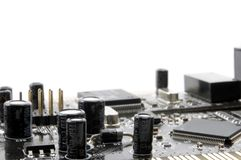 Computer electronics Stock Photo