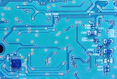 Computer electronics Royalty Free Stock Image