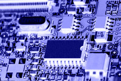 Computer electronics. Background b 6 Stock Image