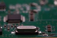 Computer electronics chip Royalty Free Stock Photos