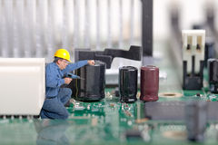 Computer, Electronics Repair Stock Image