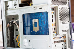 Computer elements Stock Photo