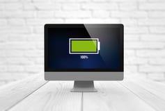 Computer energy Stock Image