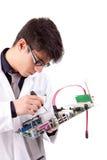 Computer Engineer Stock Image