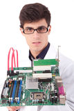 Computer Engineer Royalty Free Stock Photography