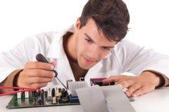 Computer engineer Stock Photo
