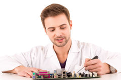 Computer Engineer Stock Photography
