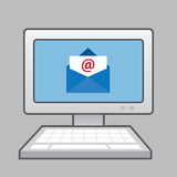 Computer Envelope Email Stock Photos