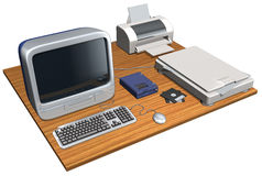 Computer Equipment Stock Image