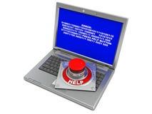 Computer error Royalty Free Stock Photography