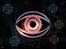 Computer Eye Royalty Free Stock Photo