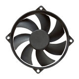 Computer fan Stock Photo