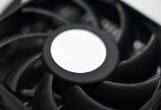 Computer fan close up Stock Photo
