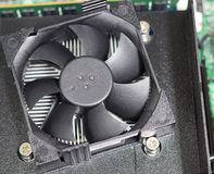 Computer fan Stock Image