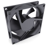 Computer fan. Isolated render on a white background Stock Images