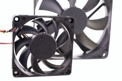 The computer fan isolated Stock Photo
