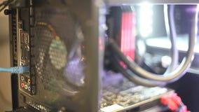 Computer Fan Rack Focus stock video