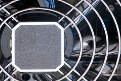 Computer fan's grate Stock Images
