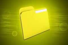 Computer file folder Royalty Free Stock Photos