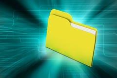 Computer file folder Stock Photography