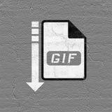 Computer file icon. Creative design of computer file icon Stock Photos