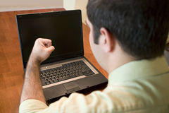 Computer Fist Royalty Free Stock Photo