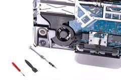 Computer for fix stock photos