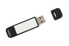 Computer flash memory Stock Images