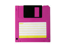 Computer floppy disk Royalty Free Stock Photo