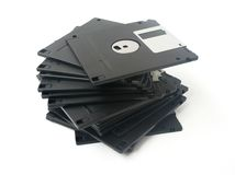 Computer floppy disk Stock Photo