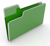 Computer folder Royalty Free Stock Images