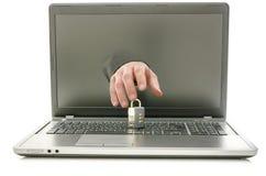 Computer fraud Stock Image