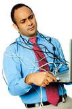 Computer Frustration Stock Photos