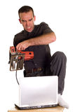 Computer Frustrations Stock Images