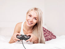 Computer game Royalty Free Stock Photos