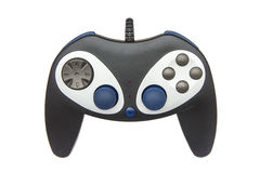 Computer gamepad isolated Royalty Free Stock Image