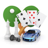 Computer games Royalty Free Stock Images