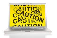 Computer-Gefahren-Konzept Lizenzfreie Stockfotos