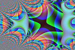 Computer generated abstract artwork. Background image Royalty Free Stock Photo