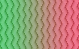 Green and pink angled lines geometric abstract wallpaper background illustration. Computer generated abstract fractal background illustration featuring smooth royalty free illustration