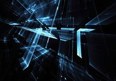 Abstract technology illustration, background, Royalty Free Stock Image