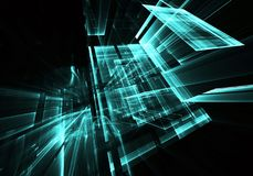Abstract technology illustration, background, Stock Photos