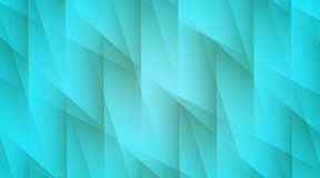 Bright aqua blue lines and angles geometric abstract wallpaper background illustration. Computer generated abstract wallpaper background illustration featuring a stock illustration