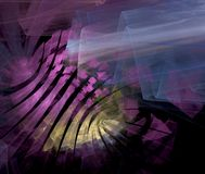 Abstract fractal background Stock Images