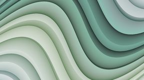 Abstract Background Illustration with Soft Waves and Curves Royalty Free Stock Photos