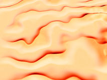 Aerial view of a desert landscape. Computer generated 3D illustration with an aerial view of a desert landscape Stock Photos
