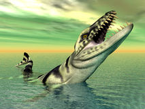 Dakosaurus Stock Photography
