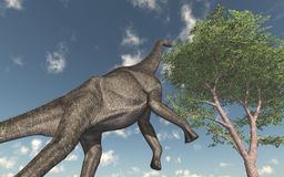 Dinosaur Brachiosaurus stock illustration