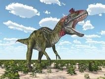 Dinosaur Cryolophosaurus Royalty Free Stock Photography