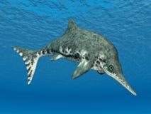 Ichthyosaur Stenopterygius Stock Photography